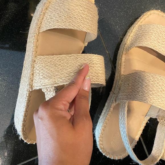 Jute sandals 9